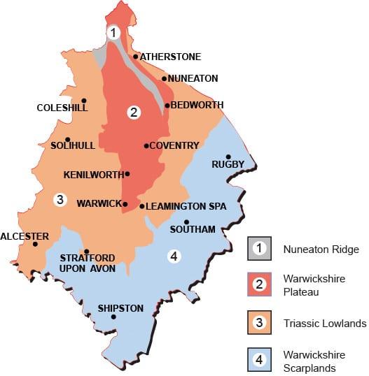 Warwickshire for Brandon wall